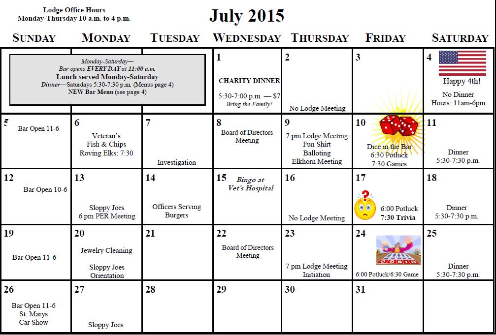 July Elkhorn